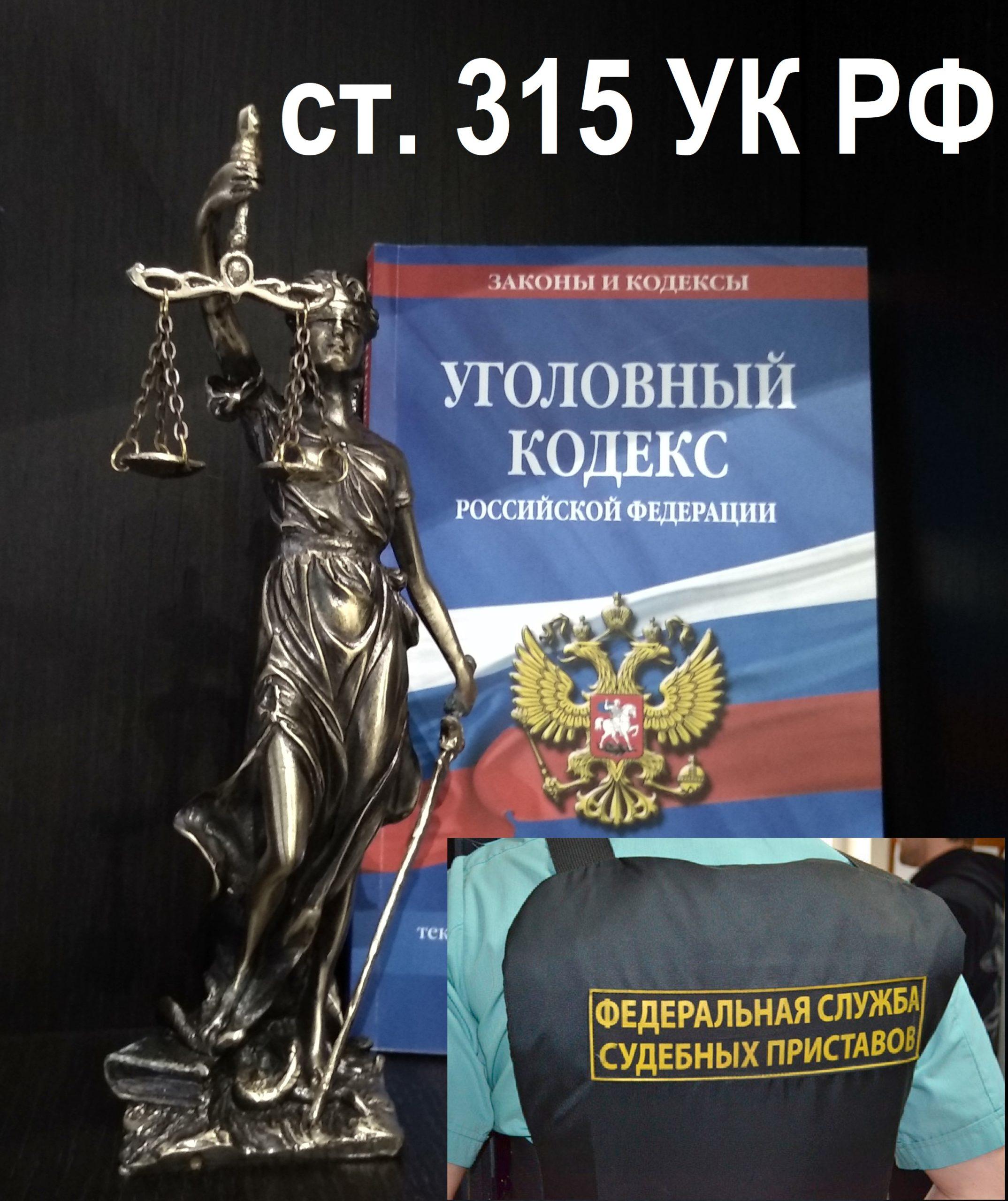 Адвокат по ст. 315 УК РФ Неисполнение решения суда